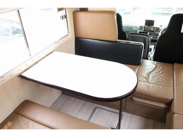 キャンピングカー バンテック コルドリーブス 4WD ディーゼルターボ家庭用エアコン ベバストFFヒーター インバーター1500W ツインサブバッテリー 電子レンジ 19型テレビ 地デジアンテナ(41枚目)