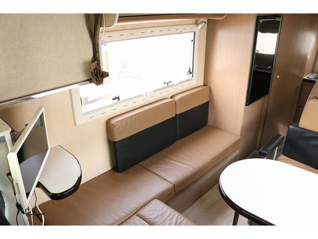 キャンピングカー バンテック コルドリーブス 4WD ディーゼルターボ家庭用エアコン ベバストFFヒーター インバーター1500W ツインサブバッテリー 電子レンジ 19型テレビ 地デジアンテナ(42枚目)