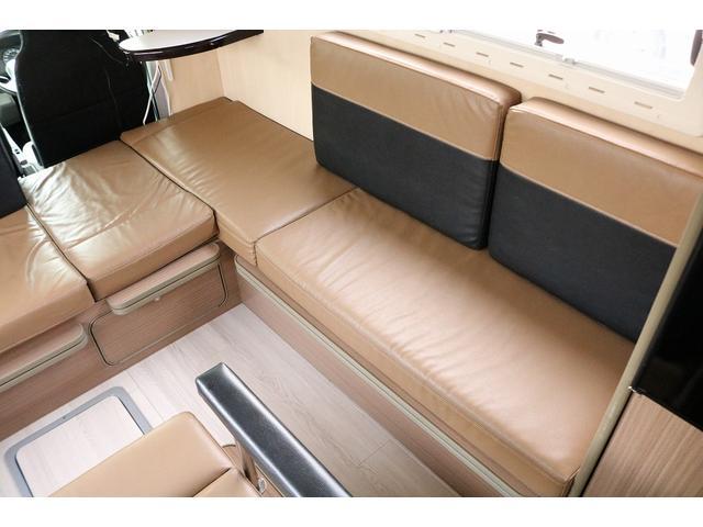 キャンピングカー バンテック コルドリーブス 4WD ディーゼルターボ家庭用エアコン ベバストFFヒーター インバーター1500W ツインサブバッテリー 電子レンジ 19型テレビ 地デジアンテナ(43枚目)