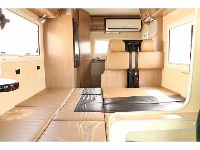 キャンピングカー バンテック コルドリーブス 4WD ディーゼルターボ家庭用エアコン ベバストFFヒーター インバーター1500W ツインサブバッテリー 電子レンジ 19型テレビ 地デジアンテナ(49枚目)