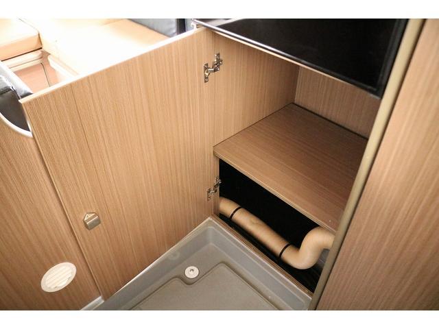 キャンピングカー バンテック コルドリーブス 4WD ディーゼルターボ家庭用エアコン ベバストFFヒーター インバーター1500W ツインサブバッテリー 電子レンジ 19型テレビ 地デジアンテナ(53枚目)