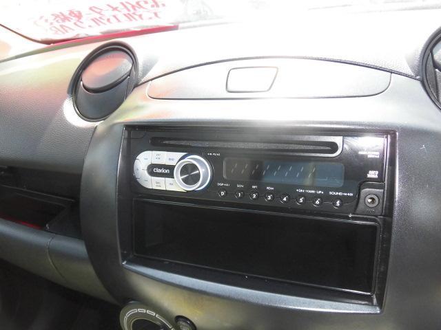 マツダ デミオ 13C 4WD 社外オーディオ キーレス