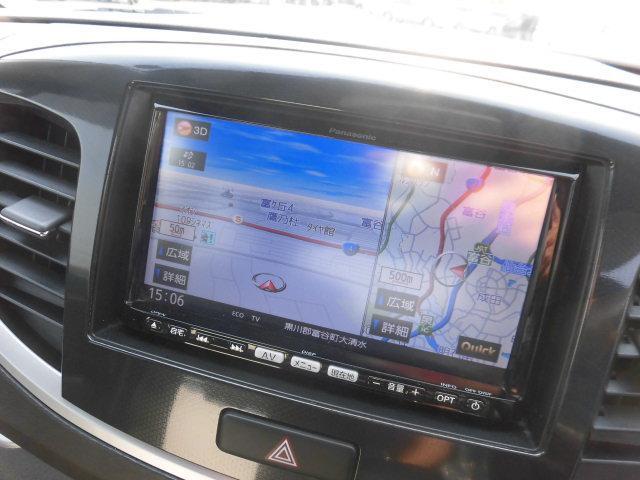 スズキ ワゴンRスティングレー T 社外HDDナビ フルセグTV インテリキー HIDライト