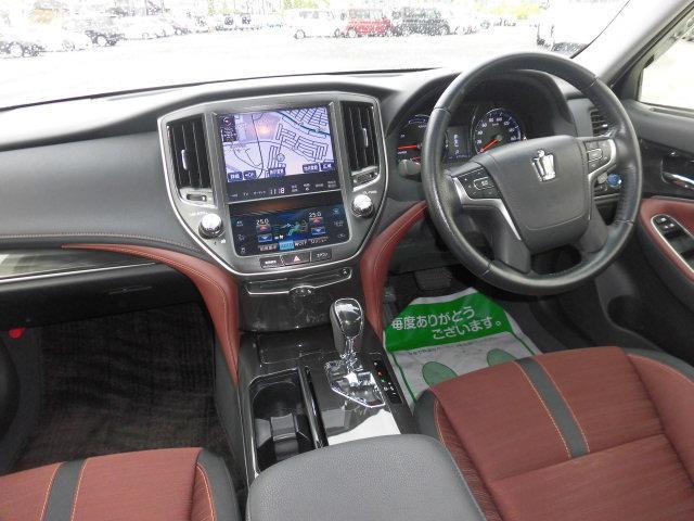 トヨタ クラウンハイブリッド アスリートS 純正HDDナビTV Bカメラ LED ETC