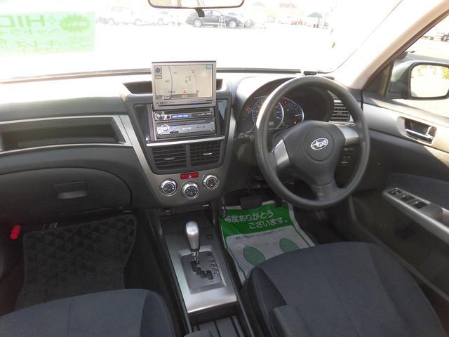スバル エクシーガ 2.0iSスタイル 社外HDDナビ サンルーフ ETC付き
