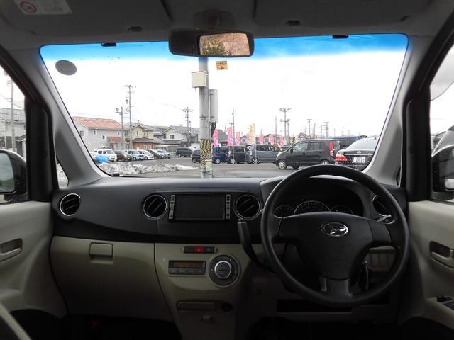 運転席からの視界も広く運転しやすいです
