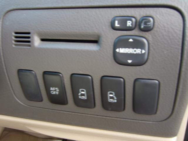 トヨタ アルファードG AS プライムセレクションリアモニター両側PスライドハーフL