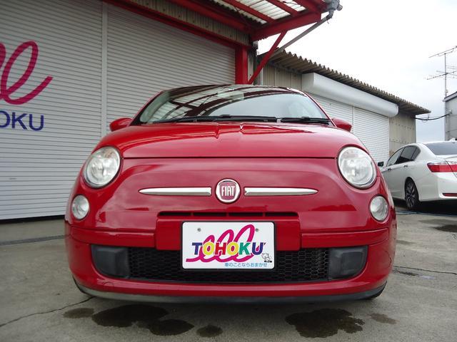 「フィアット」「500(チンクエチェント)」「コンパクトカー」「福島県」の中古車2