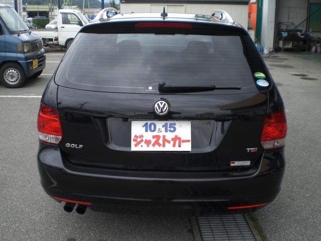 フォルクスワーゲン VW ゴルフヴァリアント TSIコンフォートラインプレミアムエディション ターボ