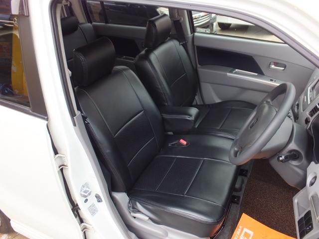 スズキ ワゴンR FXリミテッド 革シートカバー HDDナビ エアロ