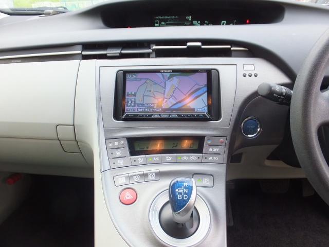 トヨタ プリウス S 社外ナビ地デジTV ETC