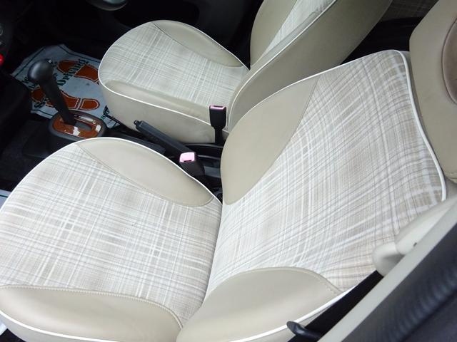 日産 マーチ ボレロ 特別仕様車 ハーフレザーシート