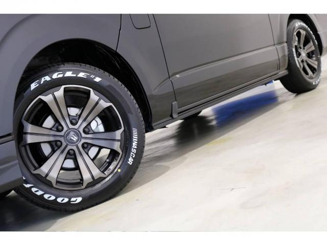 FLEX専用カラーのバルベロ17インチアルミホイール(アーバングランデ)&グッドイヤー ナスカータイヤ!ESSEXリーガルフェンダー!