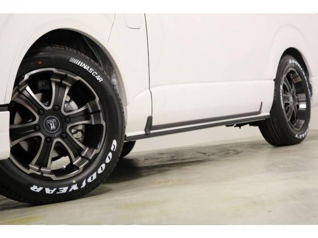 FLEX専用カラーのバルベロ17インチアルミホイール(ワイルドディープス)&グッドイヤー ナスカータイヤ!ESSEXリーガルフェンダー!
