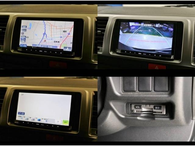 カロッツェリア地デジSDナビ&オプションバックカメラナビ出力加工&ビルトインETCも装備!