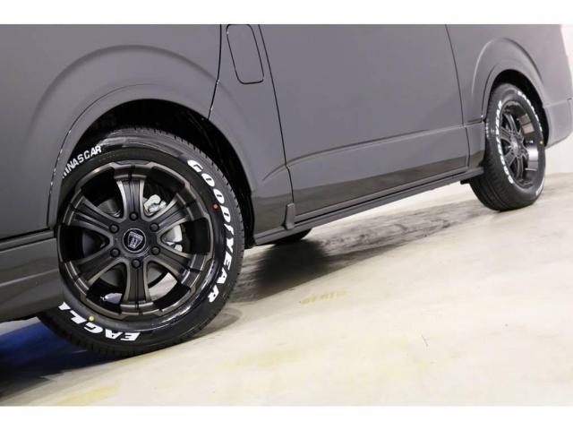 バルベロ ワイルドディープス17インチアルミホイール(FLEX専用カラー)&ナスカータイヤ!車検対応のESSEXリーガルフェンダーも装着!