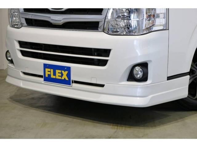 FLEXオリジナルDelfino Lineフロントスポイラー!