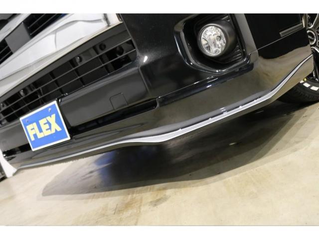 GL ワゴンGL4WDラウンジタイプワゴンFLEX Ver1内装ナビフリップダウンモニターフロントエアロローダウン18インチアルミホイールブラックマイカ新車コンプリート車両(6枚目)