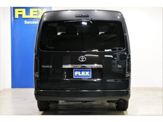 GL ワゴンGL4WDラウンジタイプワゴンFLEX Ver1内装ナビフリップダウンモニターフロントエアロローダウン18インチアルミホイールブラックマイカ新車コンプリート車両(11枚目)