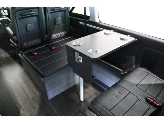 GL ワゴンGL4WDラウンジタイプワゴンFLEX Ver1内装ナビフリップダウンモニターフロントエアロローダウン18インチアルミホイールブラックマイカ新車コンプリート車両(18枚目)