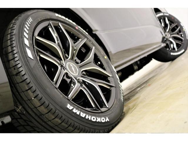 GL ワゴンGL4WDラウンジタイプワゴンFLEX Ver1内装ナビフリップダウンモニターフロントエアロローダウン18インチアルミホイールブラックマイカ新車コンプリート車両(20枚目)