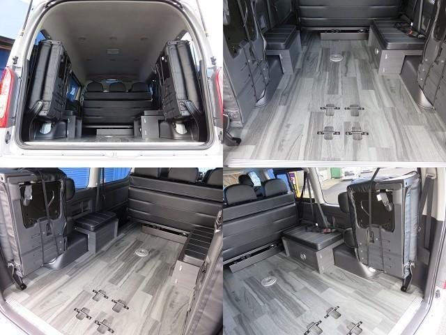 トヨタ ハイエースワゴン GL 内装架装Ver2