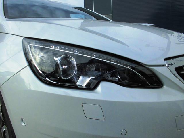 プジョー プジョー 308 GT ブルーHDi ハーフレザー LEDライト バックカメラ