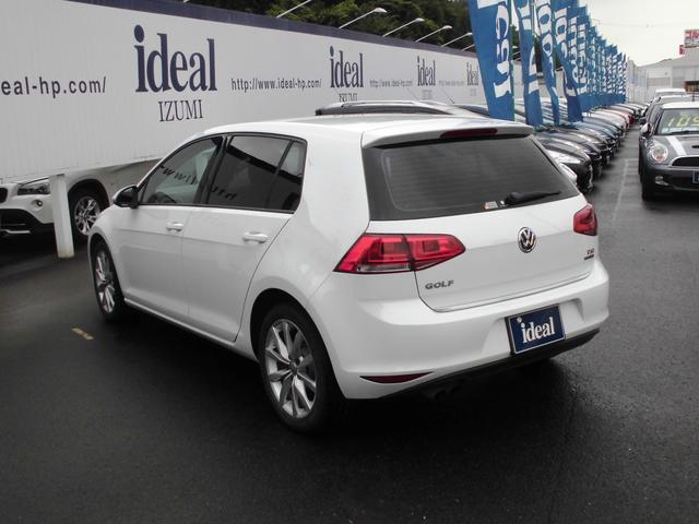 フォルクスワーゲン VW ゴルフ TSIハイラインブルーモーションテクノロジー 黒革 純正ナビ