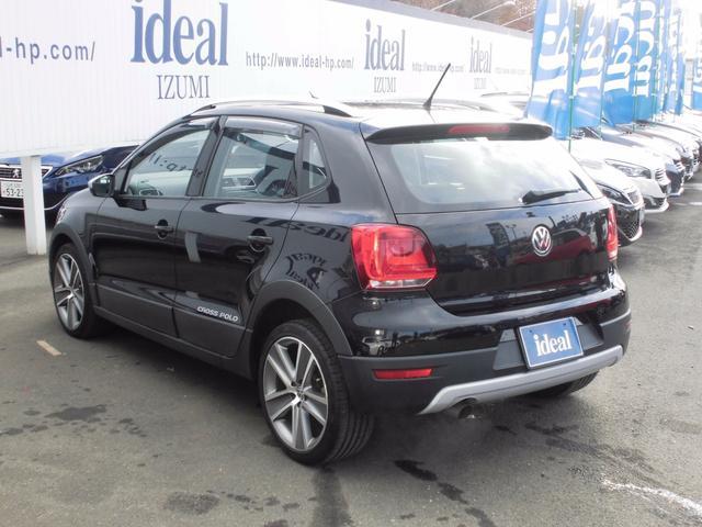 フォルクスワーゲン VW ポロ クロスポロ キセノン バックソナー 2013年モデル