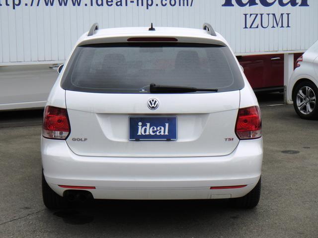 フォルクスワーゲン VW ゴルフヴァリアント TSI コンフォートライン フルセグHDDナビ キセノン