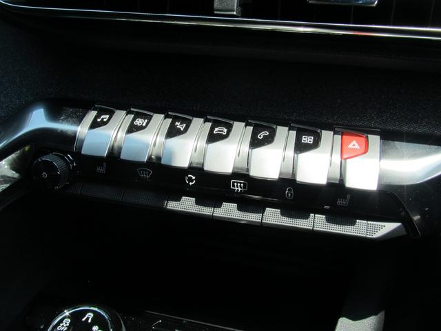 GTライン ブルーHDi 半革 LED シートヒーター(12枚目)