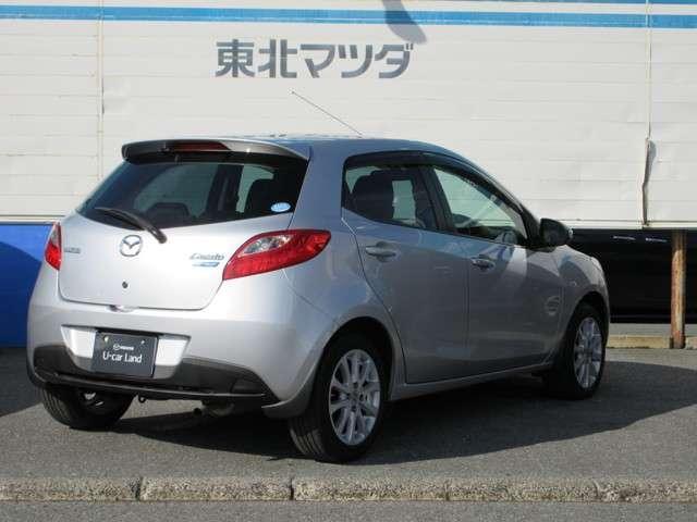 「マツダ」「デミオ」「コンパクトカー」「山形県」の中古車8