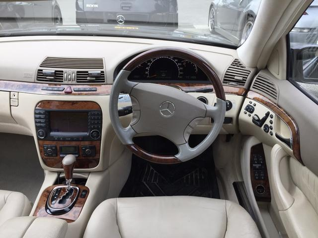 S500 サンルーフ 本革パワーシート 19インチAW(11枚目)