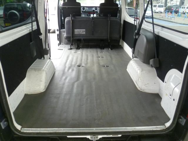 日産 NV350キャラバンバン ロングDXターボ 4WD