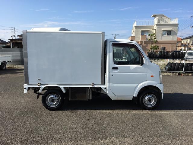 スズキ キャリイトラック 冷凍冷蔵車-5℃ 4WD