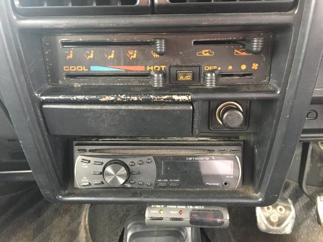 エアコン 4WD CD ミュージックプレイヤー(11枚目)