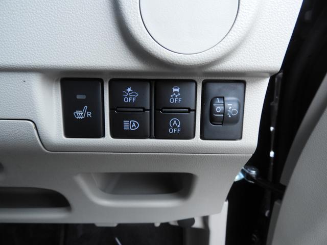 運転席右側に色んな各種スイッチがついています・