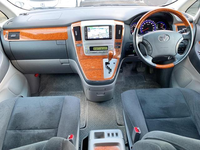 AS プラチナセレクションII 4WD 後期モデル 両側パワスラ 純正HDDナビ地デジTV Bカメラ DVD再生 CD録音 AUX SD Rパワーゲート スマートキー ETC HID ABS 純正17インチAW 8人乗り 関東仕入れ(20枚目)