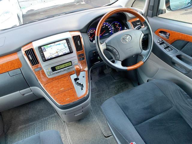 AS プラチナセレクションII 4WD 後期モデル 両側パワスラ 純正HDDナビ地デジTV Bカメラ DVD再生 CD録音 AUX SD Rパワーゲート スマートキー ETC HID ABS 純正17インチAW 8人乗り 関東仕入れ(21枚目)