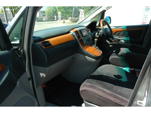 トヨタ アルファードG AS プライムセレクションII 4WD 両側パワスラ ETC