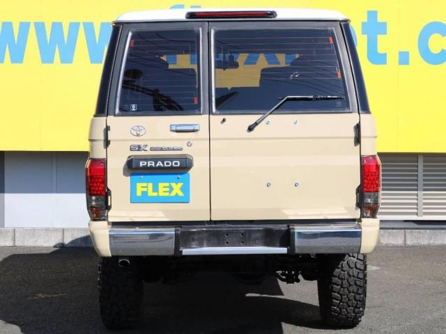 トヨタ ランドクルーザープラド SX クラシックフルコンプリート NEWペイント ナロー換装