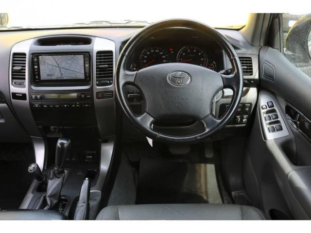 トヨタ ランドクルーザープラド 2.7 TXリミテッド 4WD 本革 MID17AW&KO2