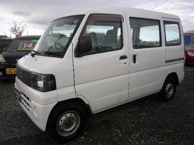 三菱 ミニキャブバン CD 4WD ハイルーフ タイベル交換済み