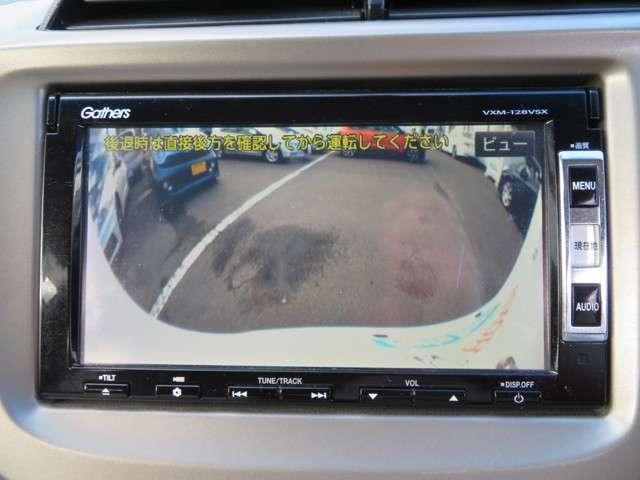 車庫入れも安心サポート!バックカメラ装備です。
