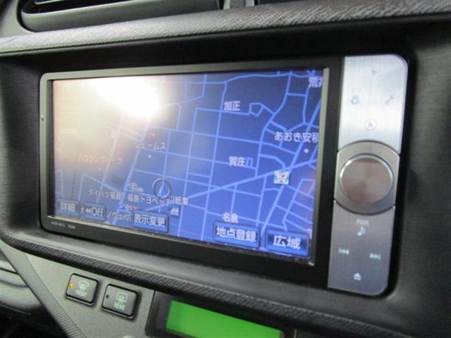 トヨタ アクア G バックモニター HDDナビ フルセグ ETC DVD