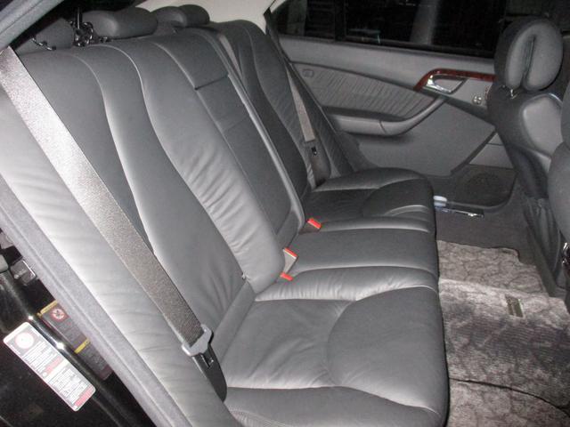 メルセデス・ベンツ M・ベンツ S500ロング 社外19インチAW ブラックレザー