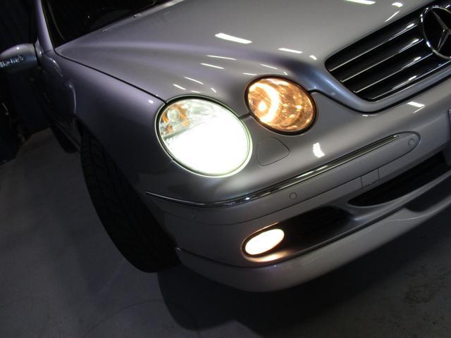 CL500 社外HDDナビ 黒皮シート ETC サンルーフ(6枚目)