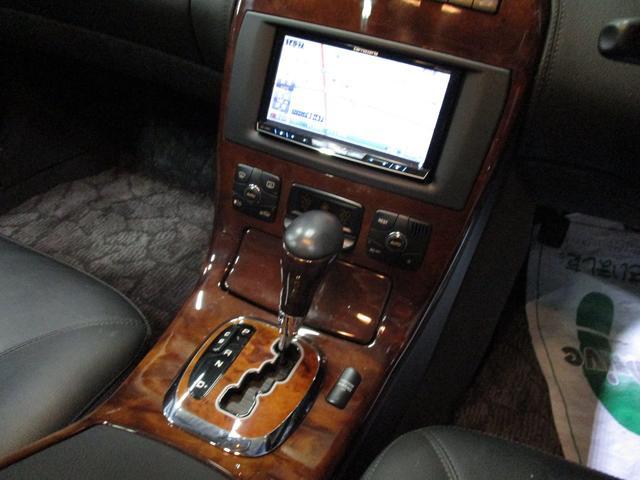 CL500 社外HDDナビ 黒皮シート ETC サンルーフ(17枚目)