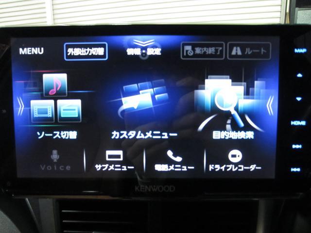 Kenwoodナビ・フルセグTV・Bluetooth接続可能!