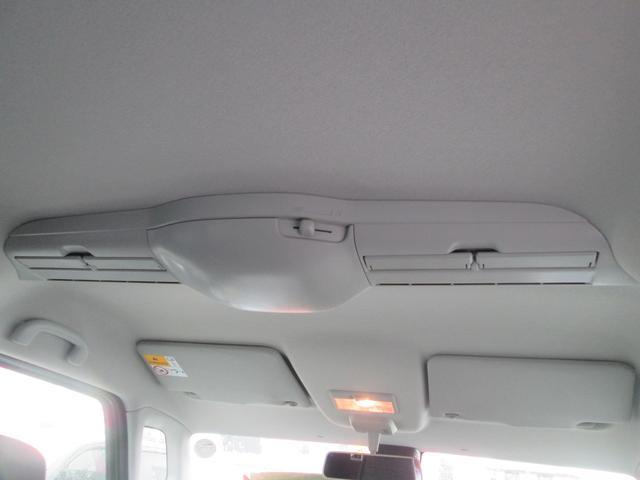 後席空調用にスリムサーキュレーターが備わります